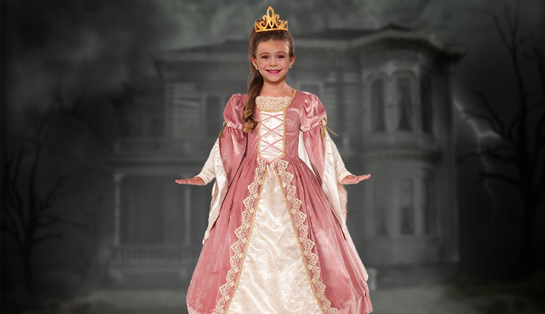 Dress, Victorian Rose Child S