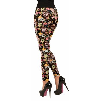 Leggings, Day of the Dead one size
