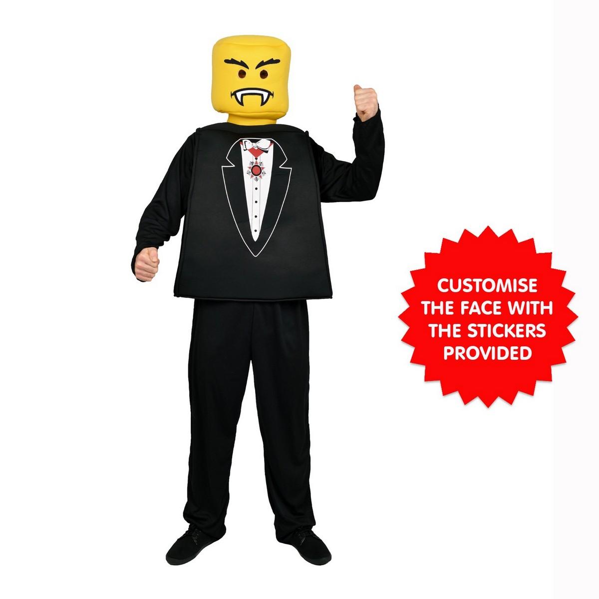 Mr. Blockhead Vampire / Tuxedo