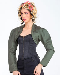 Bolero Jacket, Steampunk Extra Large