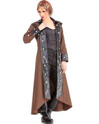Lieutenant Coat, Steampunk Extra Large