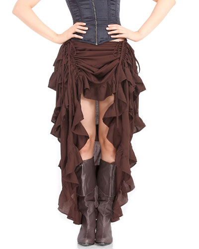Skirt, Steampunk, Show Girl Extra Large