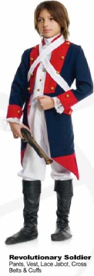 Soldier, Revolutionary Child Medium