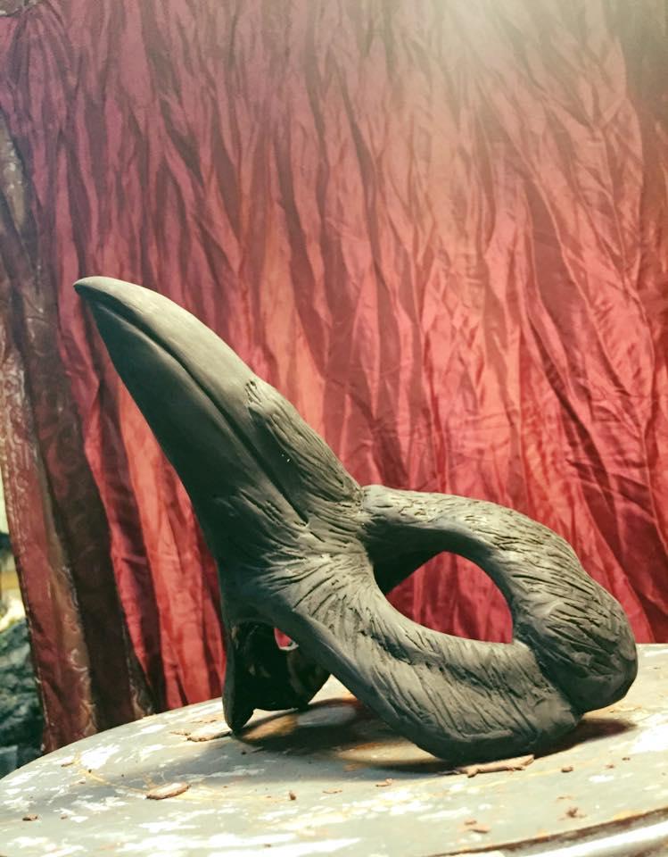 Raven Mask, Black