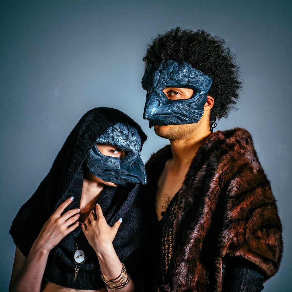 Gryffon Mask, Black