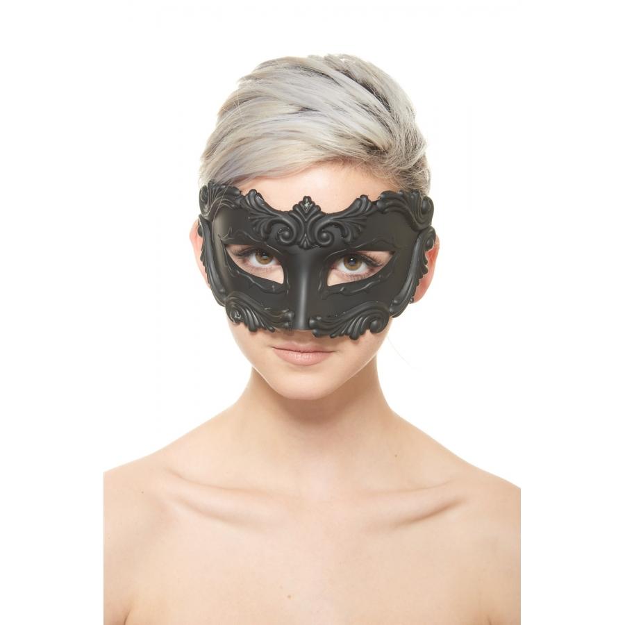 Black Gladiator Mask