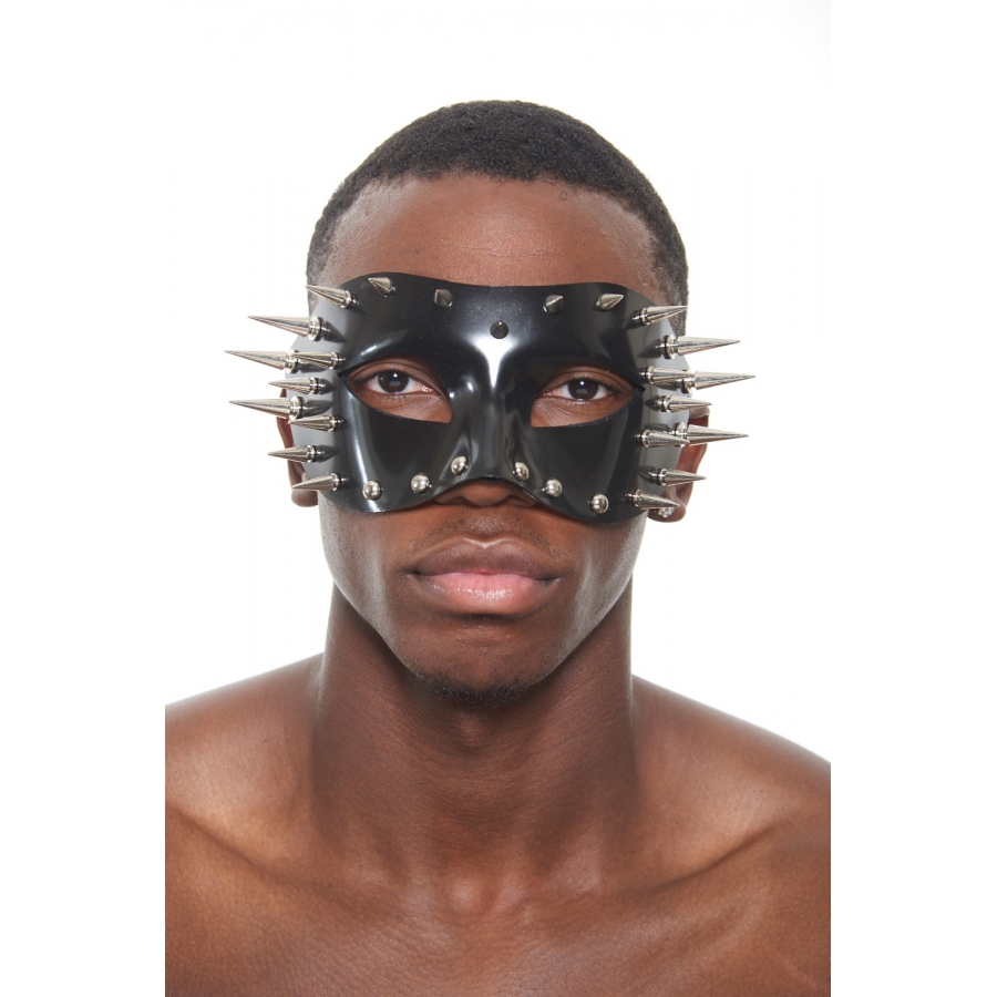 Black Mask with Spikes