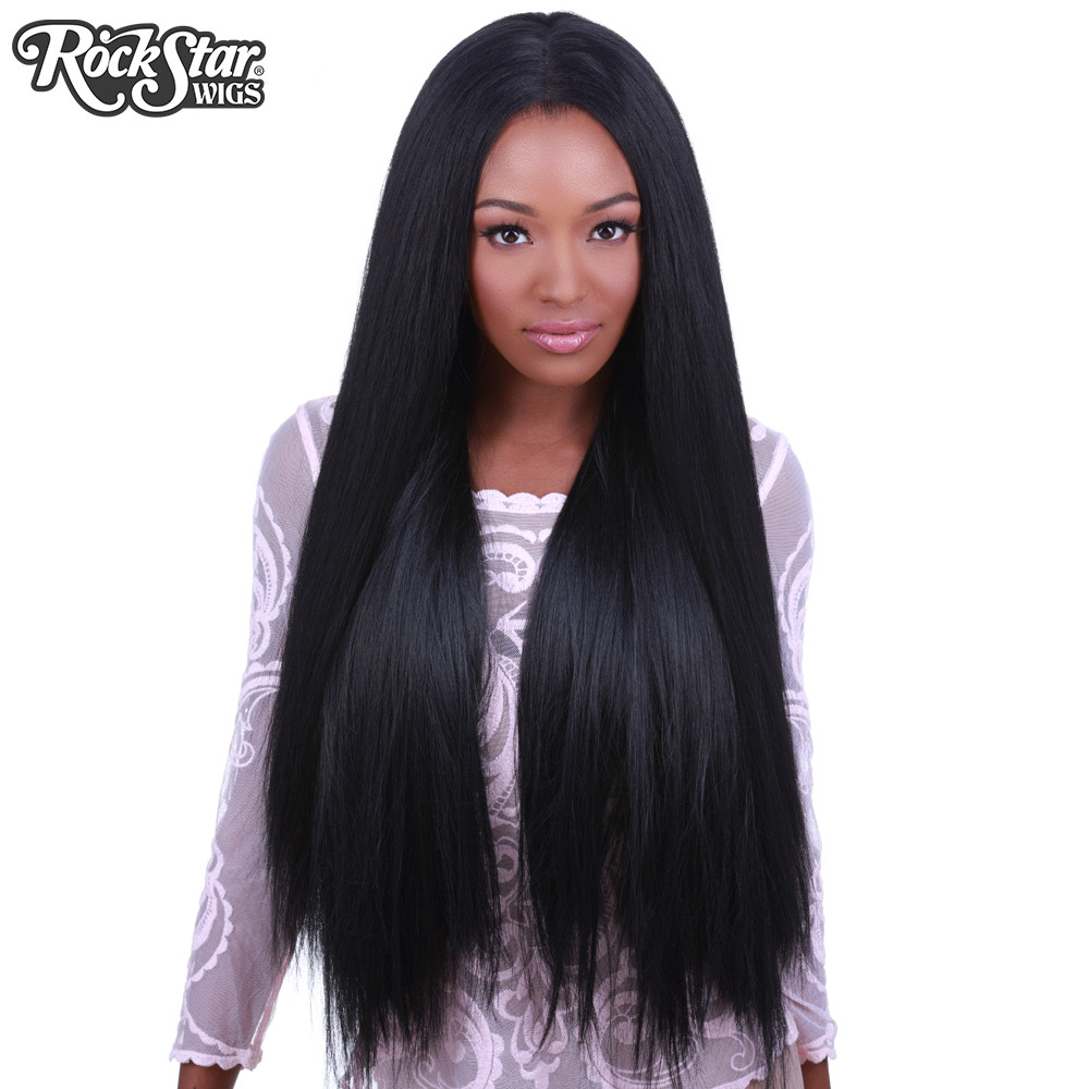 "32"" Lace Front Yaki Straight 32"""