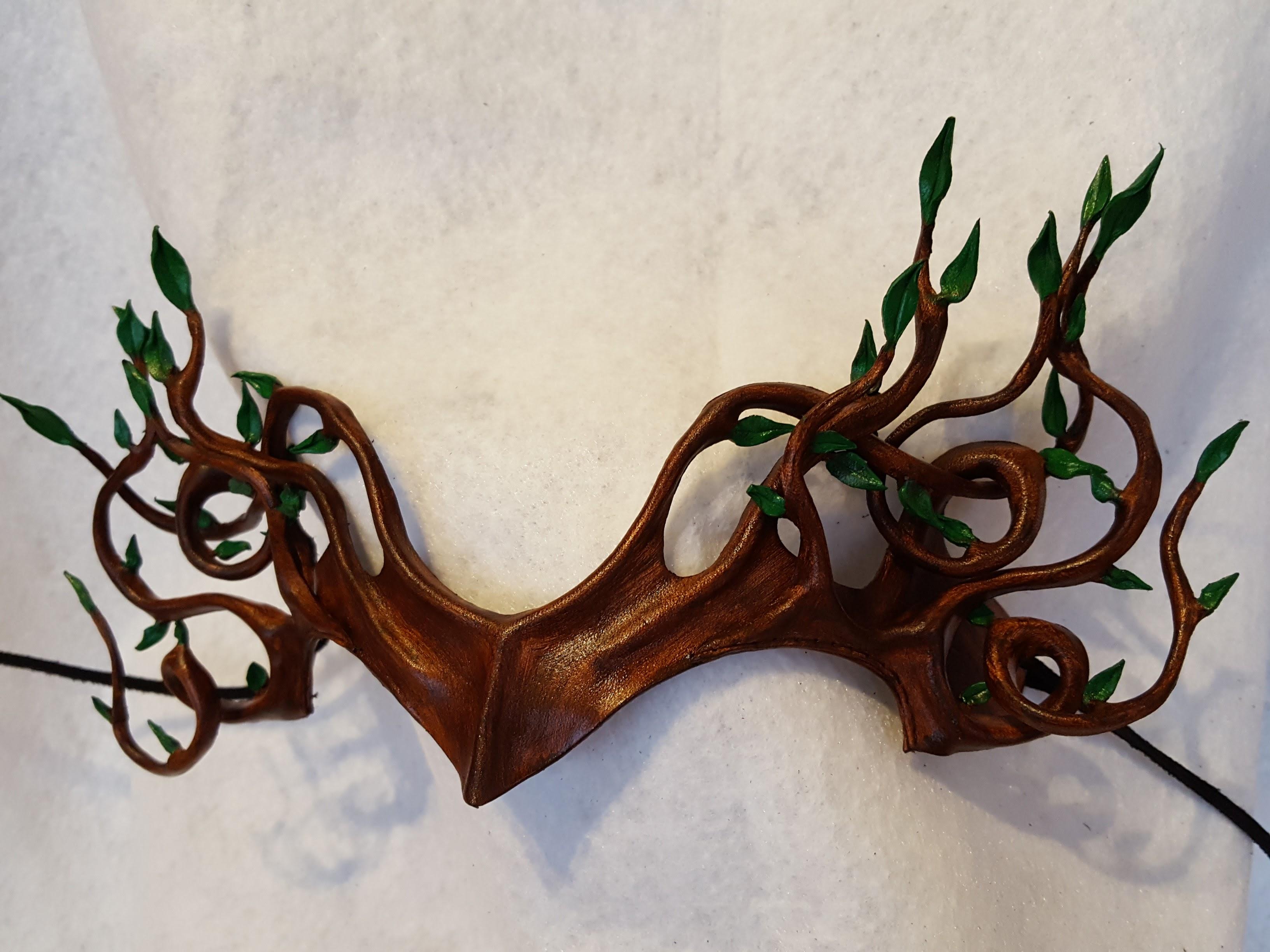 Tree Mask Headpiece