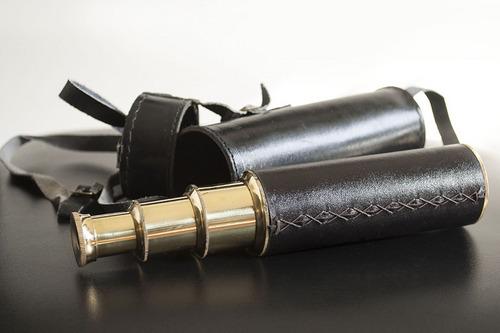 Telescope, Retractable, leather extends