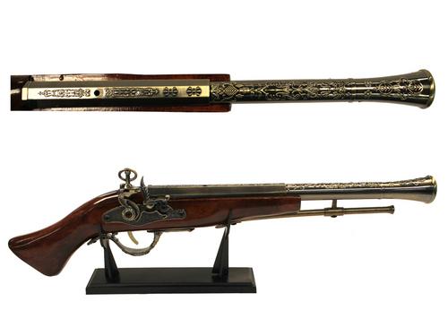 "weapon, Pirate pistol wooden 21"""
