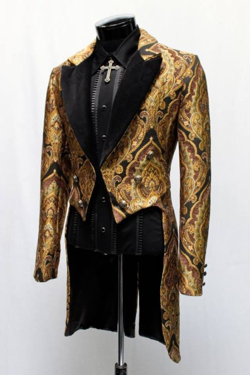 Tailcoat Victorian Xl Gd Bn A Masquerade Costume