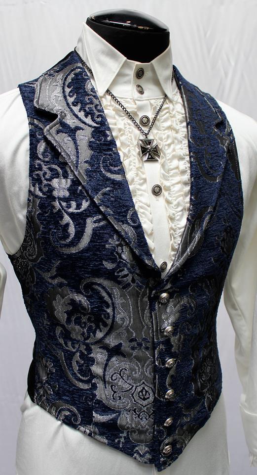 Vest, Aristocrat XL BLU/SV