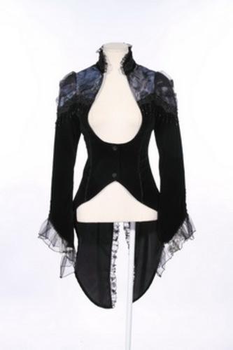 Jacket, tailcoat gothic vampire L