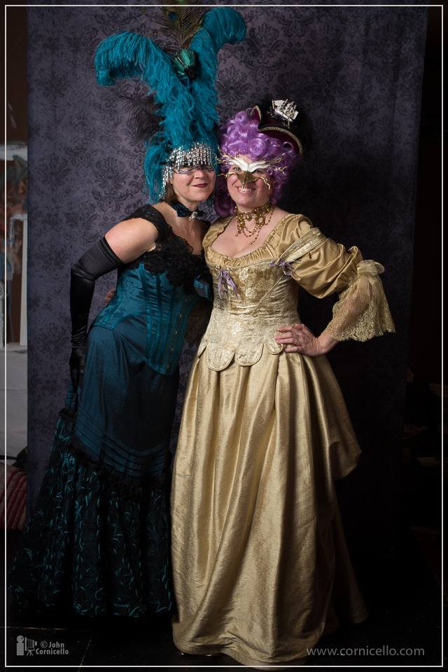 Showgirl Peacock Headdress L