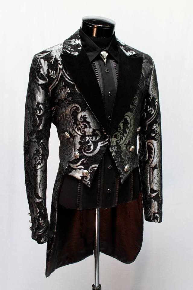 Tailcoat, Victorian XXXL SV/BK