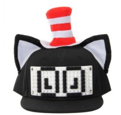 Baseball Hat, Cat in the hat Adjustable