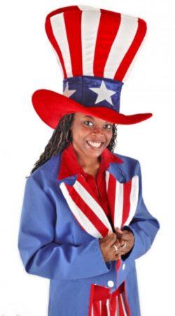 Hat USA Uncle Sam, oversized
