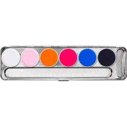 Wet Makeup, Aquacolor Palette 20ml
