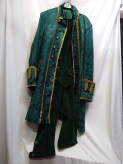 Fancy Colonial Man, GREEN, XL