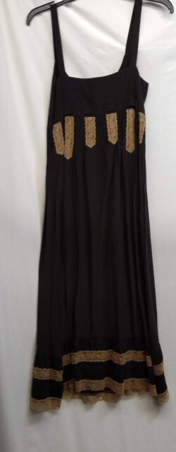 "Dress, Lace, Silk, size small bust 32"""