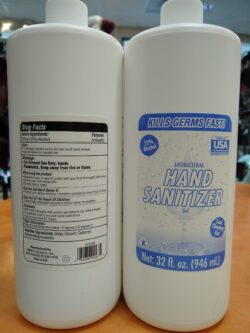 Made in USA Hand Sanitizer Gel REFILL quart bottle