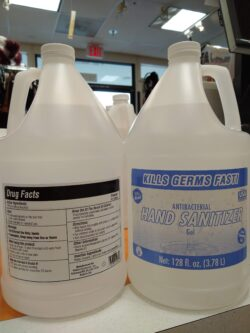 Made in USA, Hand Sanitizer Gel REFILL jug 1 gallon