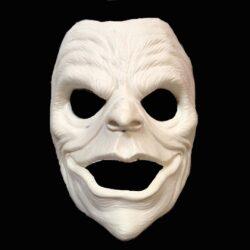 Prosthetic Full Face, Rip-Offs Skull/Clown
