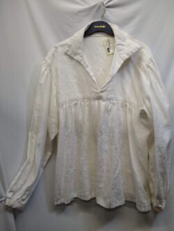 Shirt, Early Rennaisance S/M White