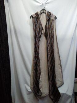 Cloak, Metallic free size