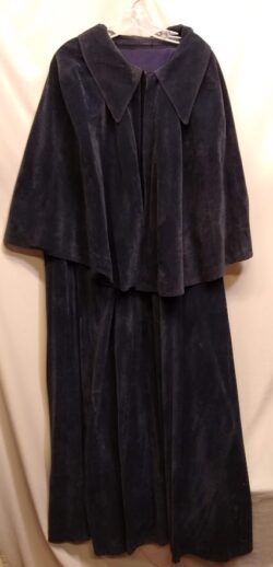 Cloak Manteau, Navy Blue OS