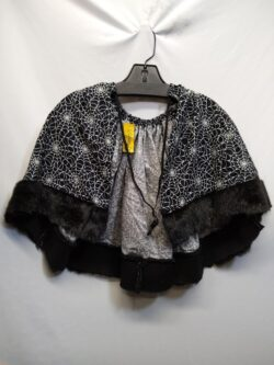 Capelet, Spiderweb w/ Fur