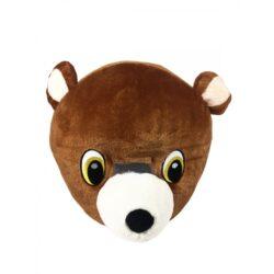 Mascot Head, Brown Bear
