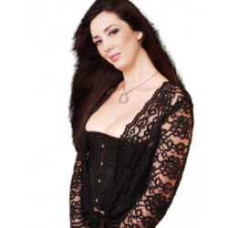 Bolero Top, Lace Black