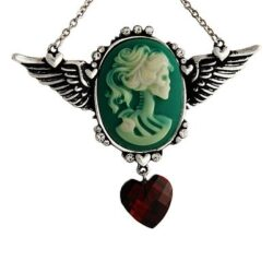 Necklace, Skull Cameo