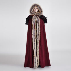 Cloak,  hooded